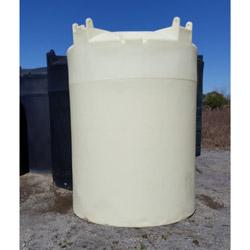 3000 Gallon Cross-Link Plastic Vertical Cone Top Tank (Blem)