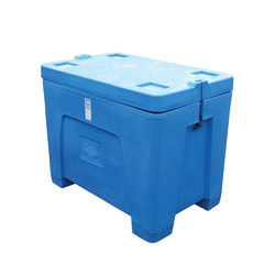 11 cu ft Insulated HDPE Bin w/ Removable Lid (PB11RL)