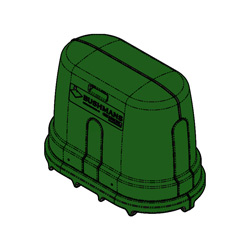 External Pump Cover, Forest Green