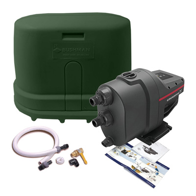 Rainwater Harvesting Pump Kit, Forest Green