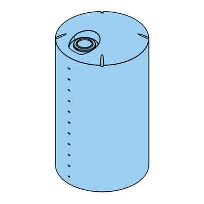 6000 Gallon Plastic Cone Bottom Tank | 40933 | Norwesco