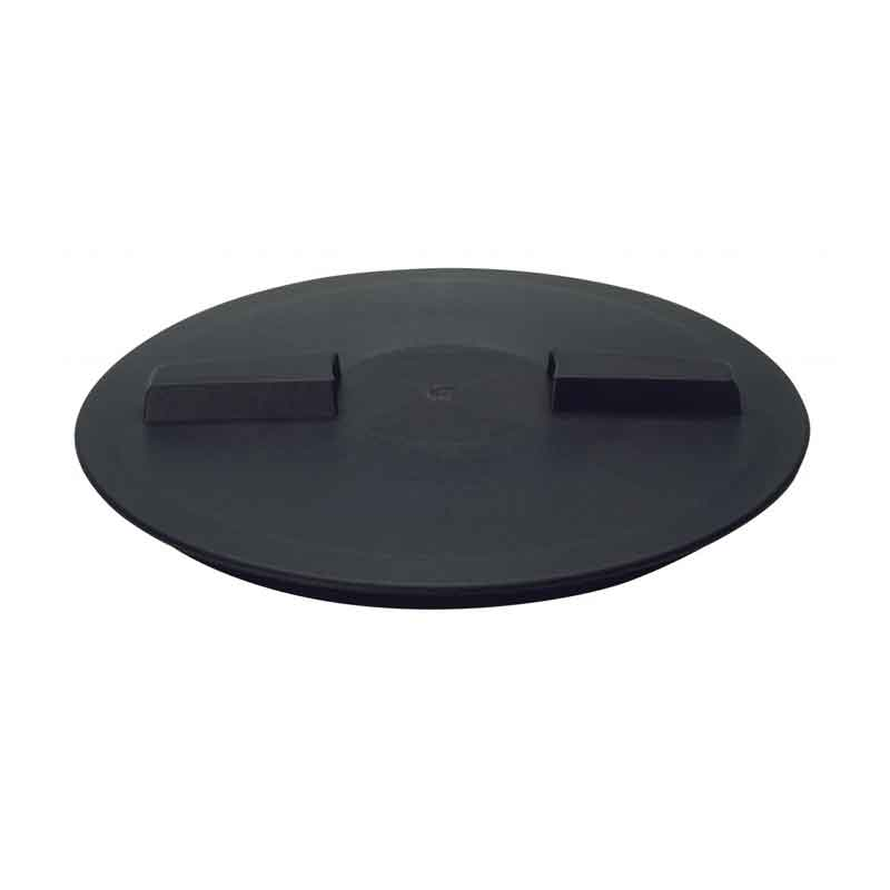 16 Inch Non Vented Lid W Ring 60367 Norwesco