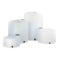 22 Gallon White Plastic Vertical Storage Tank