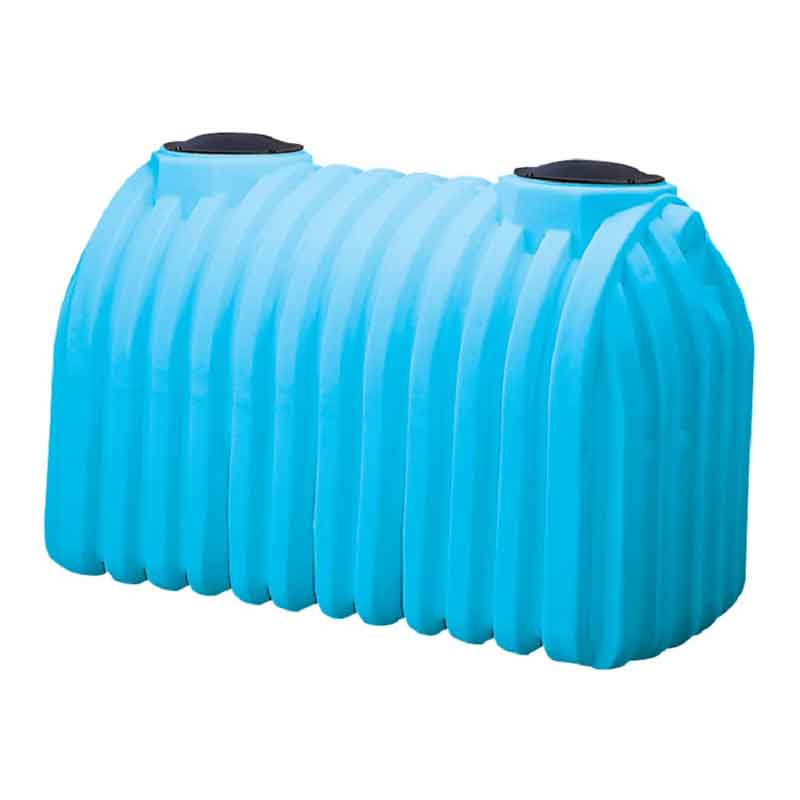 1500 Gallon Blue Plastic Septic Tank 41771 Norwesco