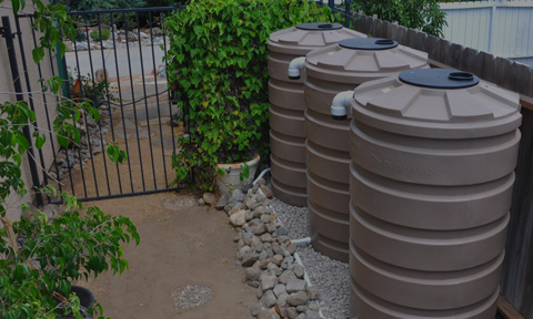Rain Harvesting Tanks