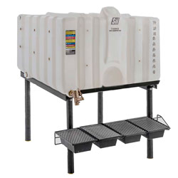 120 Gallon Cubetainer Gravity Feed System