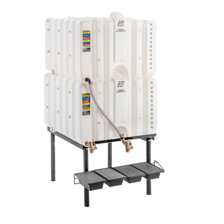 120/120 Gallon Cubetainer Gravity Feed System