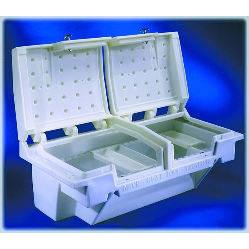 71in white tooltainer nevrrust plastic truck toolbox