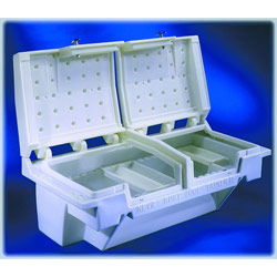 71in White Tool-tainer Nevrrust Plastic Truck Toolbox