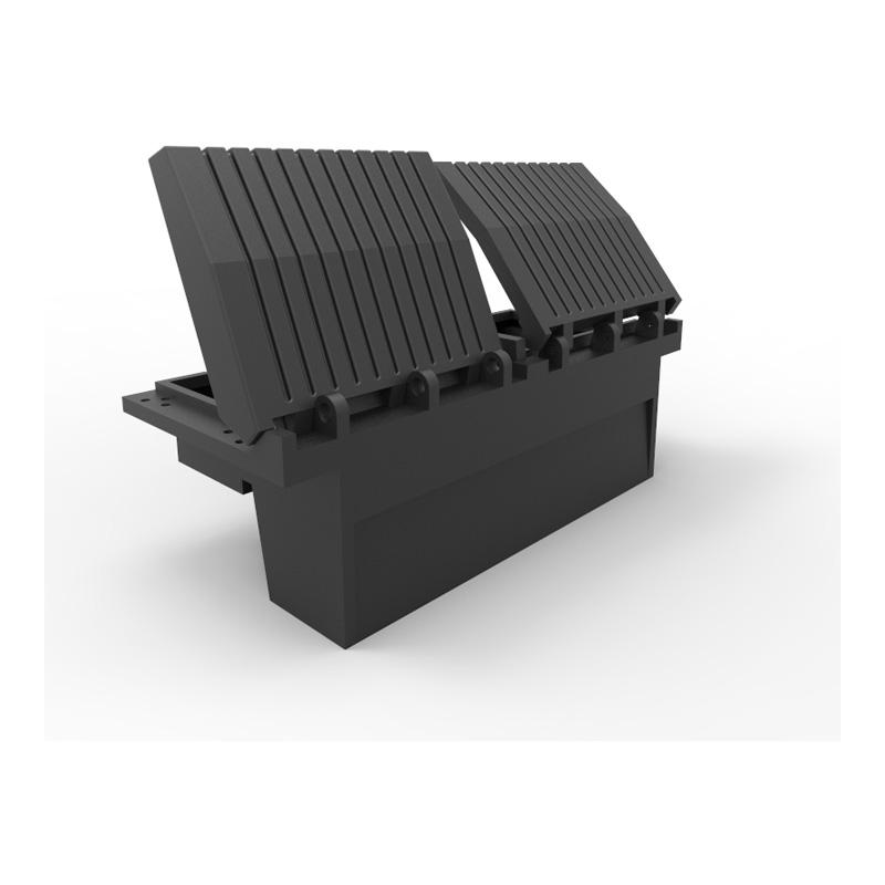 71 Inch Black Tool Tainer Plastic Truck Tool Box 29011