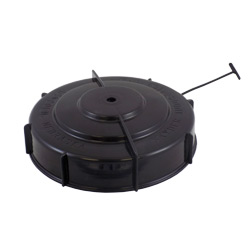 10in Vented Threaded Tank Lid with Tie