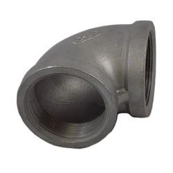 "2"" 90° 304 S/S Threaded Street Elbow (Used on Standard 3 PC Outlet)"