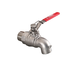 1in 316SS Spring  Release Ball Valve