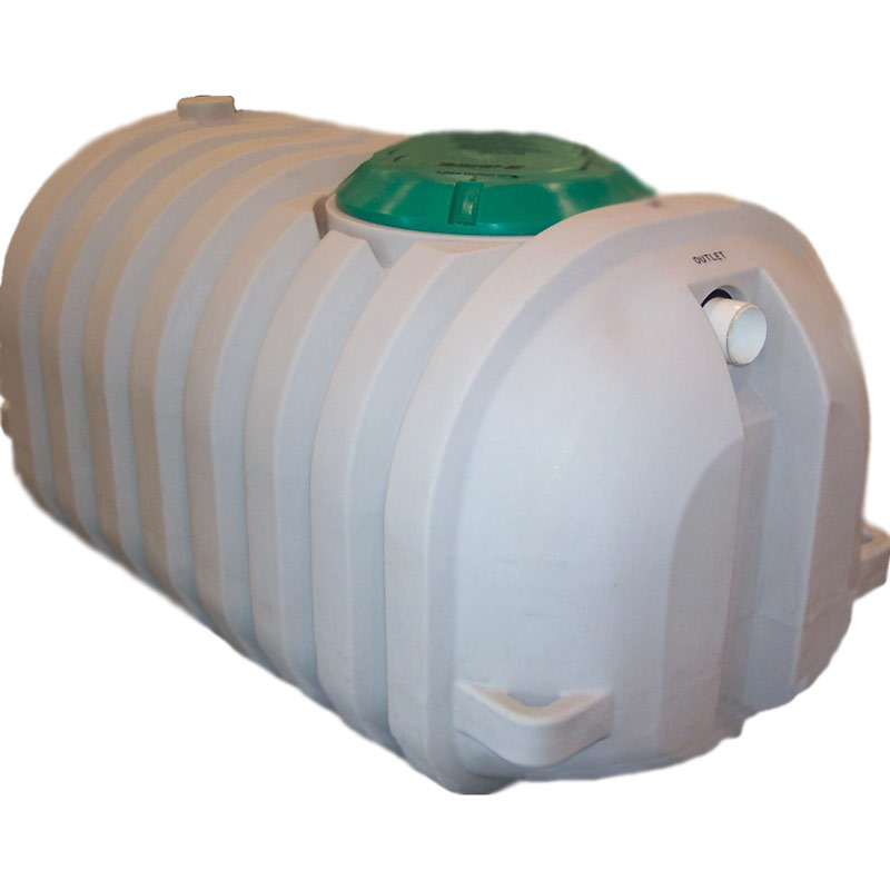 500 Gal Plumbed Low Profile Septic Tank 10009 Snyder
