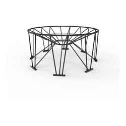 Steel Stand for 30° Cone Bottom Tank, 95in Diameter