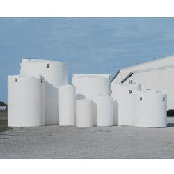 300 Gal White Freestanding Water Tank 41869 Norwesco