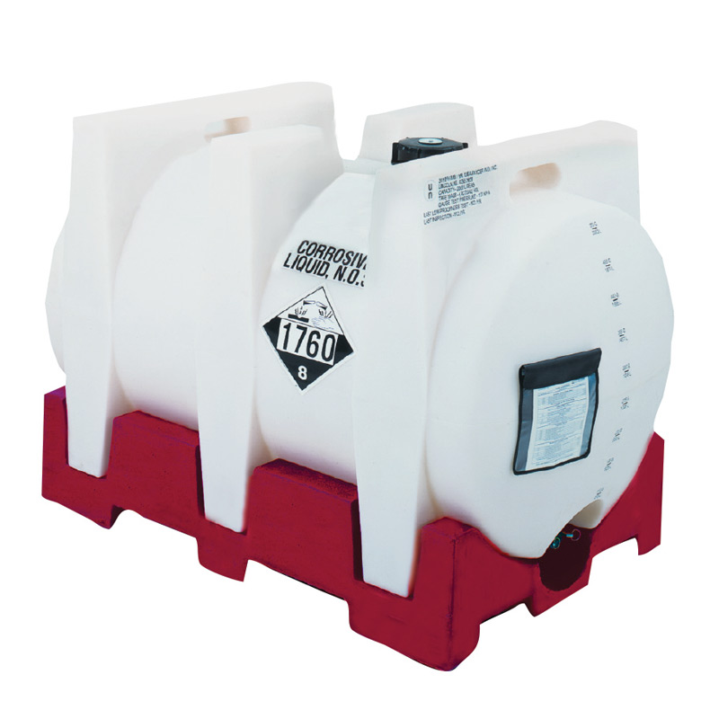 550 Gallon Megatainer LX IBC Portable Tank, No Inserts