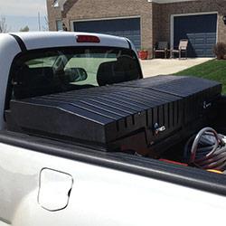 tooltainer plastic truck boxes