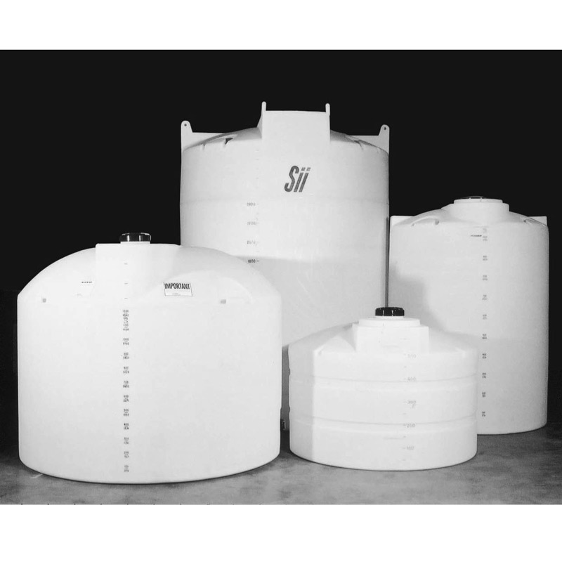 100 Gallon White Plastic Vertical Tank 10127 Snyder