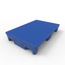"35"" x 23"" Smooth Top Multipurpose Pallet, Blue"