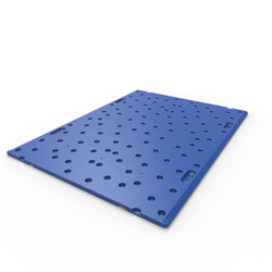 "43"" x 32"" Smooth Top Racking Board, Blue"