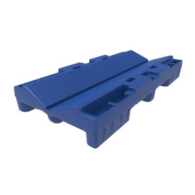 32in Blue Plastic Nestable Roll Pallet Rp3266s00 Stratis