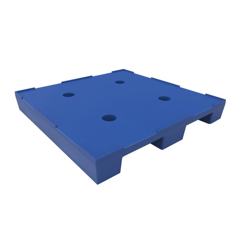 42 X Multipurpose Pallet W 2 Way Entry Blue